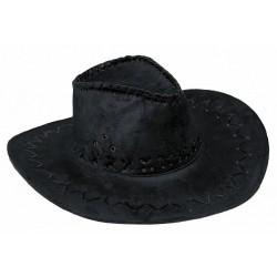 Chapeau Buffalo luxe noir