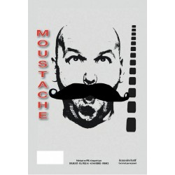 Moustache gendarme noire