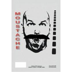 Moustache Georges noire
