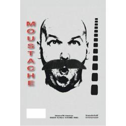 Moustache Georges grise