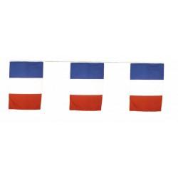 Guirlande drapeaux tricolores