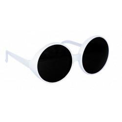 Lunettes glamour blanc / noir