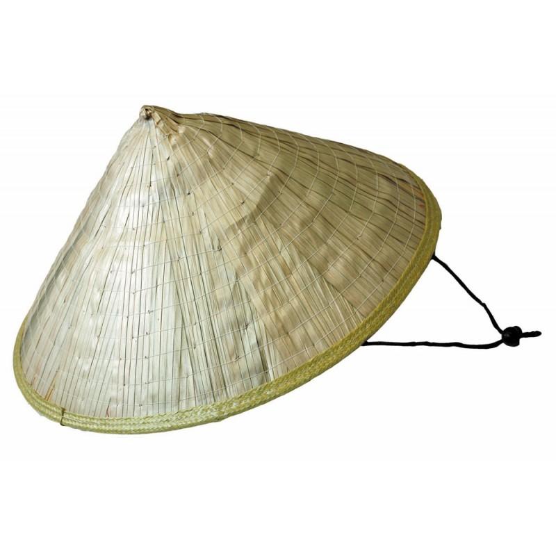 adultes  chapeau chinois en paille