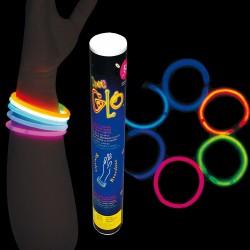 Tube 50 bracelets lumineux