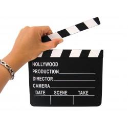 Clap de cinema en bois
