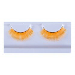 Faux-cils orange