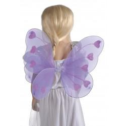Ailes de papillon violet