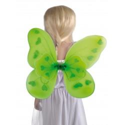 Ailes de papillon vert