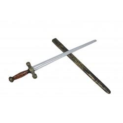 Epée de chevalier avec fourreau