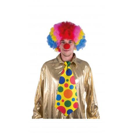 Cravate géante de clown