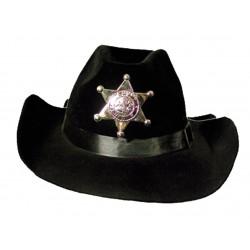 Chapeau de shérif noir