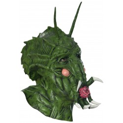 Masque de créature de l'espace en latex
