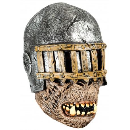 Masque de guerrier monstrueux en latex