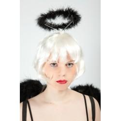 Serre-tête halo d'ange noir