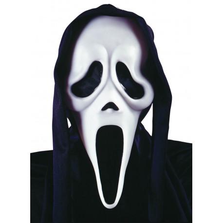 Masque Ghost Face avec capuche