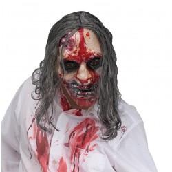 Masque de zombie avec pompe de sang