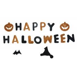 """Happy halloween"" gélatine"