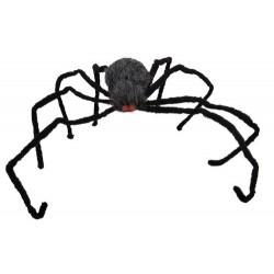 Araignée géante peluche avec yeux lumineux