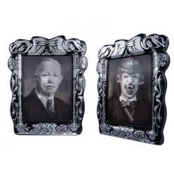 Cadre lenticulaire homme âgé / vampire