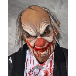 Masque de clown sanglant