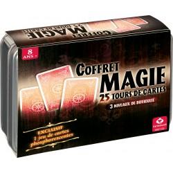 Coffret magie 25 tours de cartes