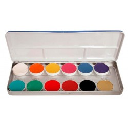 Palette aquacolor 12 teintes