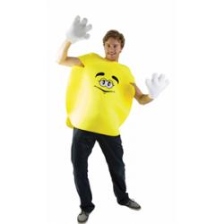 Bonbon rond jaune