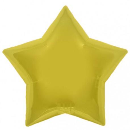 Ballon aluminium étoile (46cm)