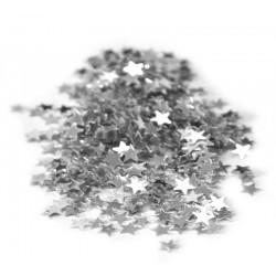 Confettis de table ETOILES ARGENT