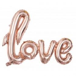 Ballon aluminium love