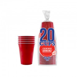 Original Cup gobelets rouges 53cl