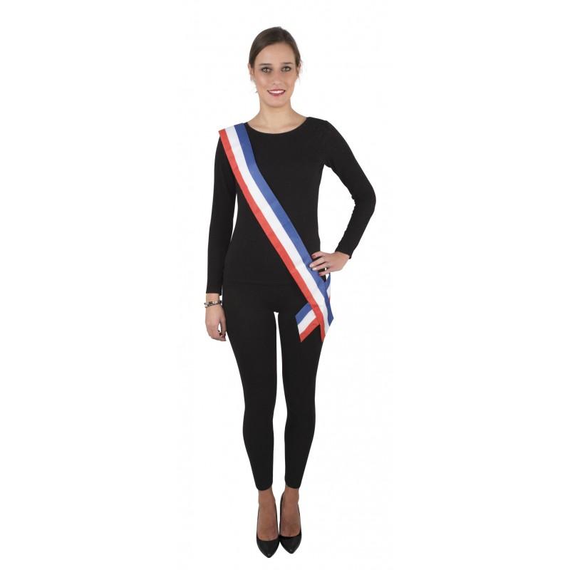 bas prix pourtant pas vulgaire dernière collection Echarpe tricolore de maire - Fete à paris