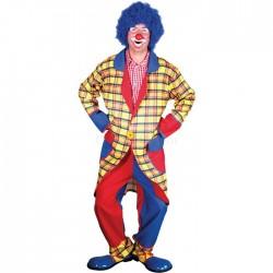 Clown à carreaux