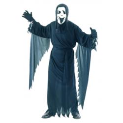 Fantôme noir avec masque